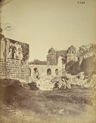 General view of the Mecca Gateway, Aurangabad